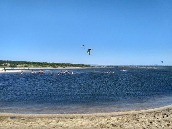 Lagoa de Santo André照片