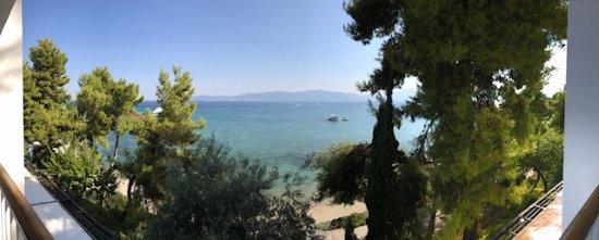 Gregolimano, Grecja: Vue de notre balcon CH1310