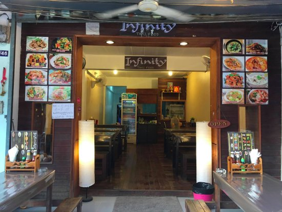 Infinity Thai Food: from outside of the restaurant