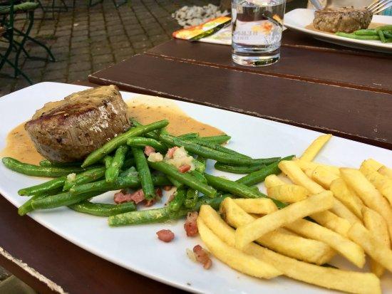 Schwabach, Tyskland: Steak
