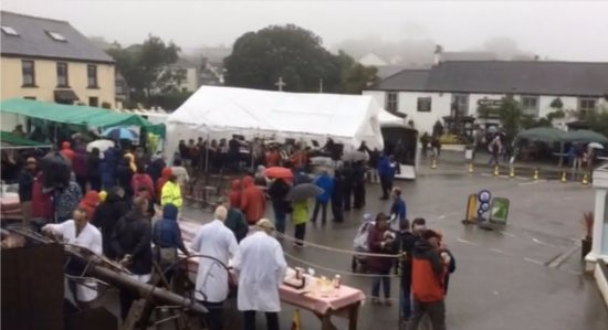 St Keverne, UK: The Annual Hog Roast every August