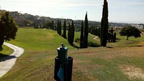 Villa Padierna Palace Hotel: View on Golf Course