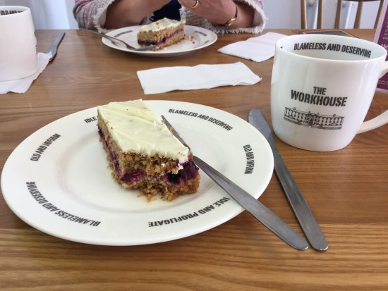 Southwell, UK: Workhouse themed café!