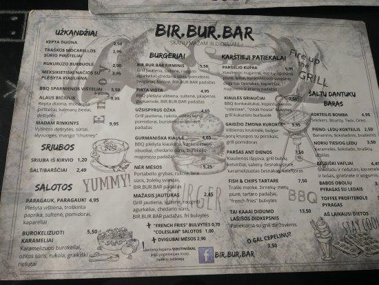 Birstonas, Litauen: Genial menu