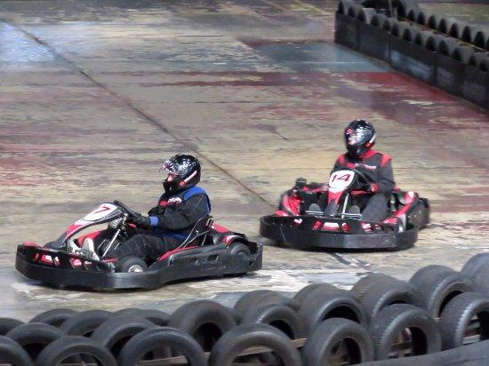 TeamSport Go Karting Brighton: Go karts TeamSport, Lancing