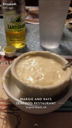 Margie & Ray's Crabhouse: She Crab Soup