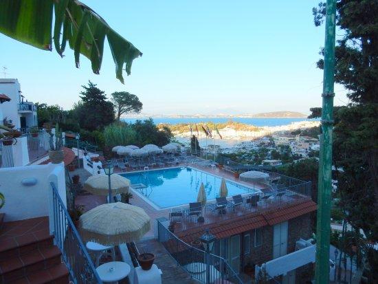 Don Pedro Hotel: Quelle belle vue de notre balcon