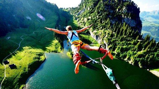 Lakshman Jhula: Jumping Heights