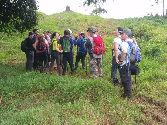 Horquetas, Costa Rica: group hikes and getting out there