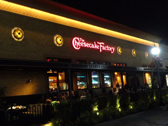 The Patio Picture Of The Cheesecake Factory Pembroke Pines Tripadvisor