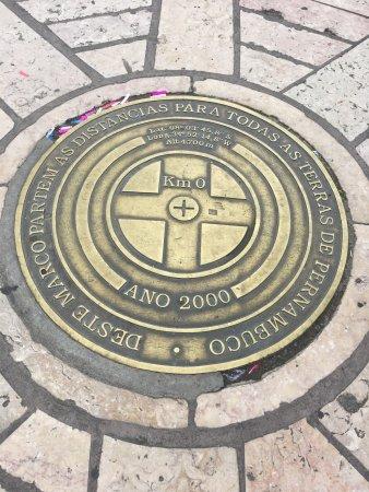 Praça do Marco Zero: O Marco Zero