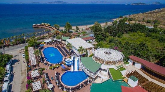 Golden Beach Deluxe Hotel Turgutreis Turkije Foto S Reviews En Prijsvergelijking Tripadvisor