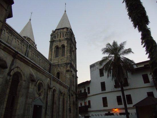 Zanzibar Archipelago, Tanzania: budynek katedry z innego ujęcia