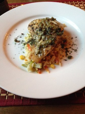 Alpenhorn Kitchen: Red Snapper with Orzo