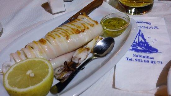 San Luis de Sabinillas, Ισπανία: Calamar