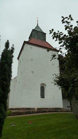 Solbjerg, Danmark: Kirken fra vest