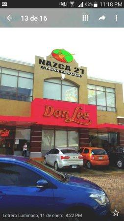 Las Lajas, Panama: Restaurante Nazca 21 Coronado