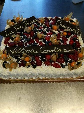 Acquaviva di Montepulciano, Italia: torta