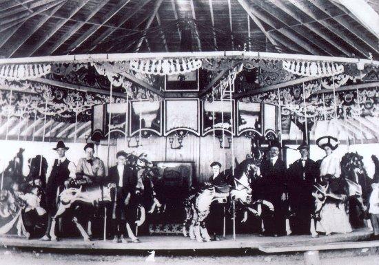 Seabreeze Amusement Park: 1900 original Carousel
