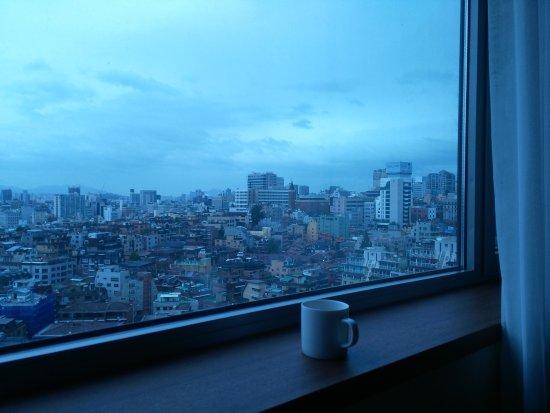 Best Western Premier Gangnam: View from room window