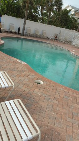 Cornerstone Beach Resort: After Irma 9.13.17  Pool is ready for our guests!