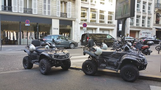Quad In Paris