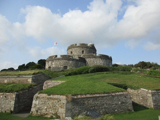 St Mawes Castle from coast