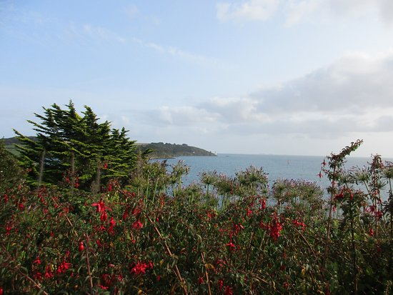 St Mawes, UK: View from castle
