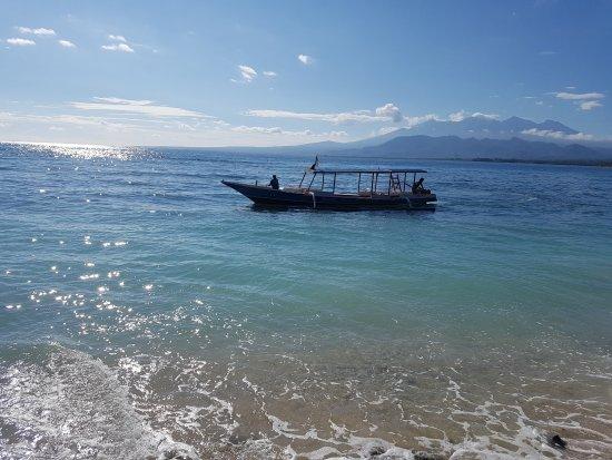 Gili Air, Indonesia: så vackert