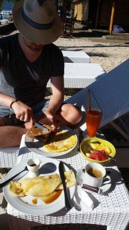Gili Air, Indonésia: supergod frukost ingick i priset