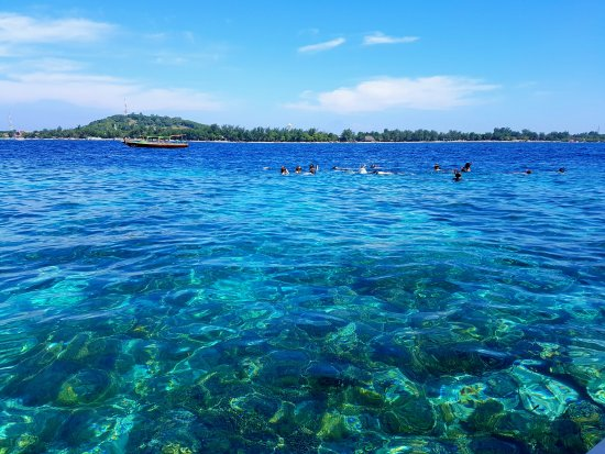 Gili Air, Indonesia: snorkelutflykt
