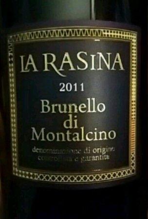 Enoteca Il Cavallante : Brunello di Montalcino 2011 - La Rasina