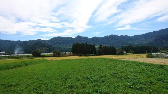 Takamori-machi, Giappone: Scenic View of Mount Aso
