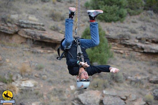 Wolcott, CO: Fun trying upside down
