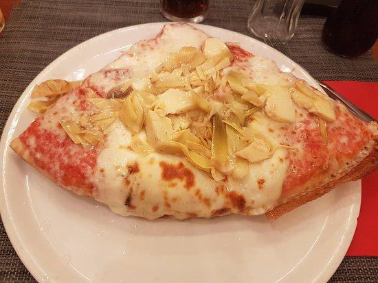 La Bottega della Pizza: carciofi