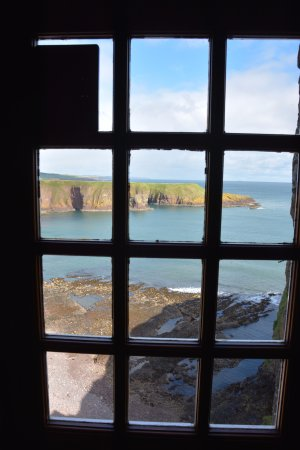 Stonehaven, UK: View from inside