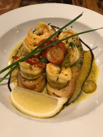 New Brighton, UK: lovely prawn starter