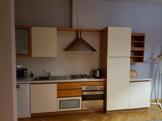Lovely Prague Apartments: cocina