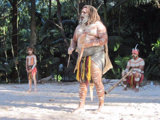 Currumbin, Australië: Aborigens