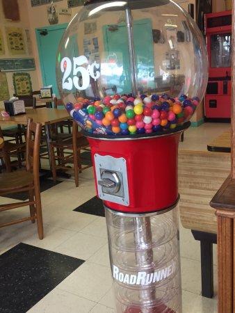 Island Delights : Gum ball machine!!