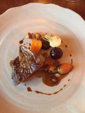 Biddenden, UK: Main course of the taster menu