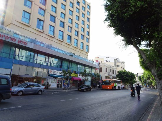 Mercure Tel-Aviv City Center: ホテルの外観