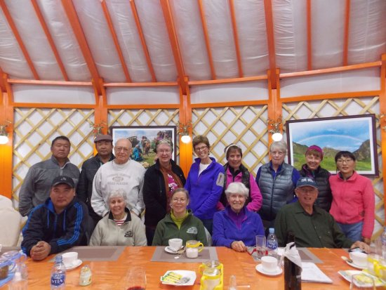 Dalandzadgad, Mongolia: Guest from the USA, at Gobi Nomad Lodge