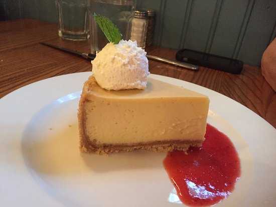 Kill Devil Grill: The best key lime pie--ever! Tart and velvety-smooth.