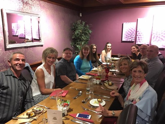 The Mains of Scotstown Inn: Birthday Meal