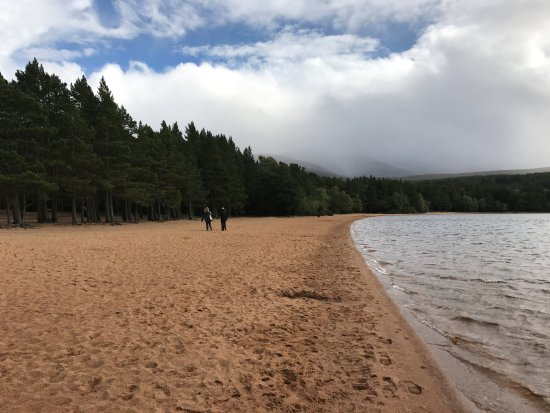 Aviemore, UK: Beautiful beach.