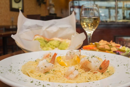 Mount Joy, Pensilvania: Di Maria's Pizza & Italian Kitchen - Shrimp Scampi