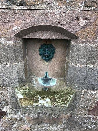 Stonehaven, UK: Fountain.