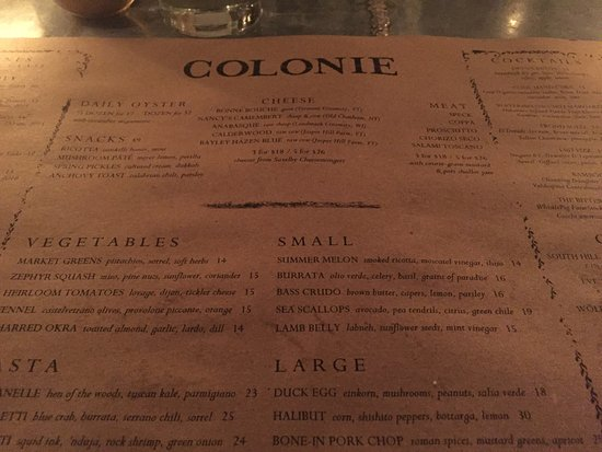 Photo of American Restaurant Colonie at 127 Atlantic Ave, Brooklyn, NY 11201, United States