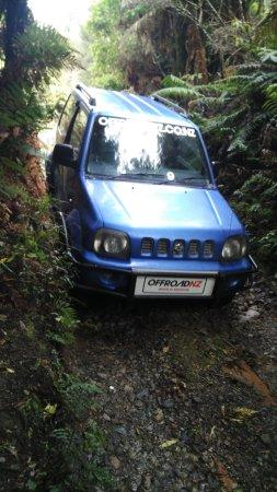 Mamaku, Νέα Ζηλανδία: The 4WD Safari Self drive vehicle